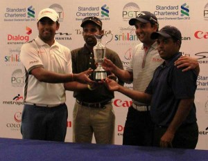 Outside-lead-Professional-Golfers-with-the-Standard-Chartered-Open-2012-trophy
